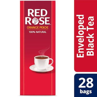 Red Rose® Premium Black Tea Enveloped -