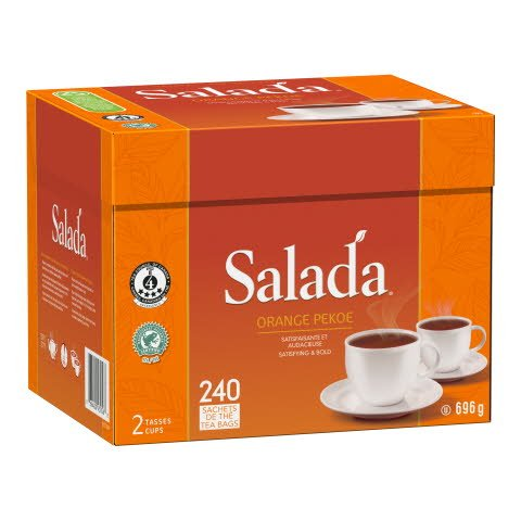 Salada® Tea Orange Pekoe 4 x 240 bags a 2 cups -