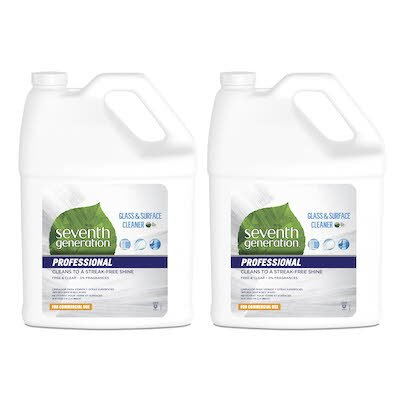 Seventh Generation Professional Glass and Surface Cleaner Refill 2 x 3.78 l -