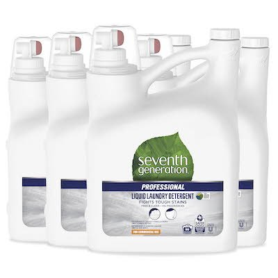 Seventh Generation Professional Liquid Laundry Detergent 4 x 4.43 l -