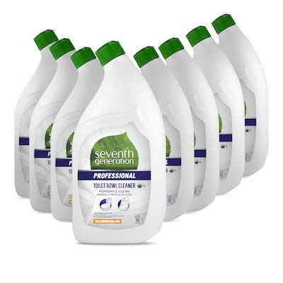 Seventh Generation Professional Toilet Bowl Cleaner 8 x 0.95 l -