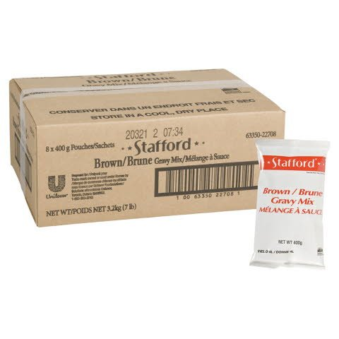 Stafford® Brown Gravy Mix 8 x 400 gr -