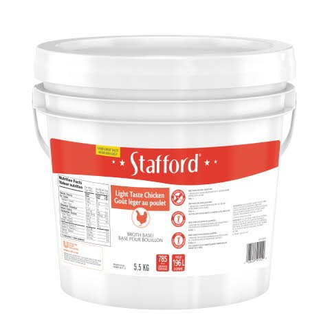 Stafford® Red Label Light Taste Chicken Broth Base 1 x 5.5 kg -