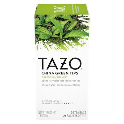 TAZO® Hot Tea Filterbag China Green Tips 24 count, pack of 6 - TAZO® offers teas with a twist for deliciously unique flavours