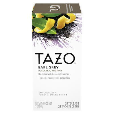 TAZO® Hot Tea Filterbag Earl Grey 24 count, pack of 6 - TAZO® offers teas with a twist for deliciously unique flavours