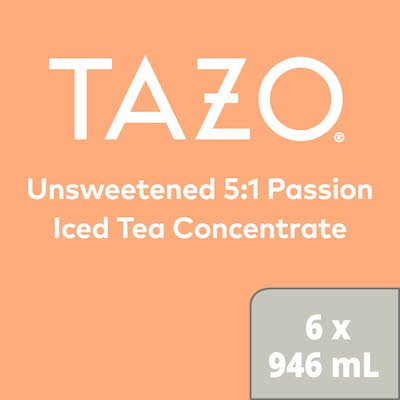 TAZO® Iced Tea Concentrate 5:1 Passion 6 x 946 ml -