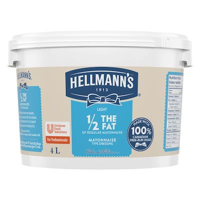 Hellmann's® 1/2 The Fat Light Mayonnaise 2 x 4 L - Guests want healthier options that taste great