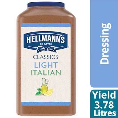 Hellmann's® Light Italian Salad Dressing 2 x 3.78 L - Hellmann's® Light Italian Salad Dressing: To your best salads with dressing that looks, performs and tastes like you made it yourself.