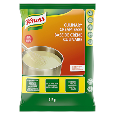 Knorr® Professional Culinary Cream Base 6 x 715 gr - Scratch white sauce can scorch.