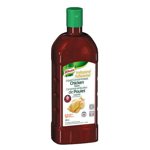 Knorr® Professional Liquid Concentrated Chicken Base - Only Knorr® Liquid Concentrated Bases deliver closest-to-scratch flavour.