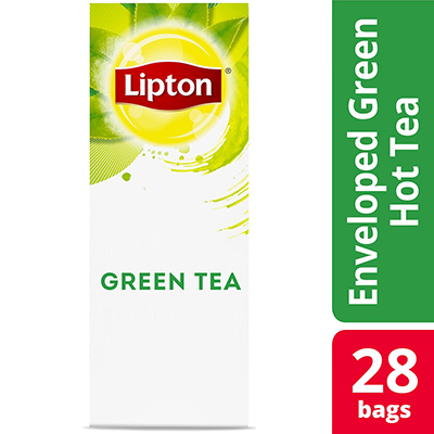 Lipton® Enveloped Green Tea pack of 6, 28 count -