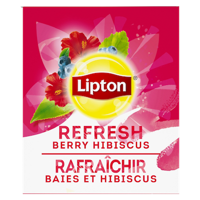 Lipton® Hot Tea Berry Hibiscus 6 x 28 bags -