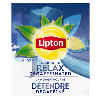 Lipton® Hot Tea Decaffeinated Black 6 x 28 bags -