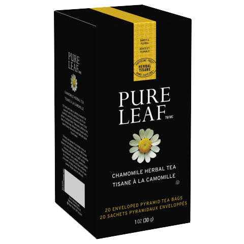 Pure Leafᵀᴹ Hot Tea Bags Chamomile 20 count, Pack of 6