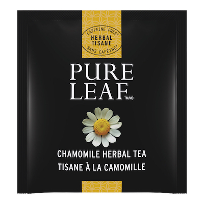 Pure Leafᵀᴹ Hot Tea Bags Chamomile 20 count, Pack of 6 - Pure Leafᵀᴹ Hot Teas match the careful craftsmanship of your menu.