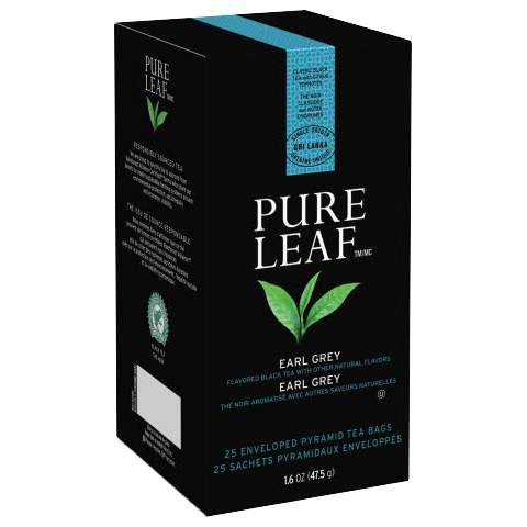 Pure Leafᵀᴹ Hot Tea Bags Earl Gray 25 count, Pack of 6