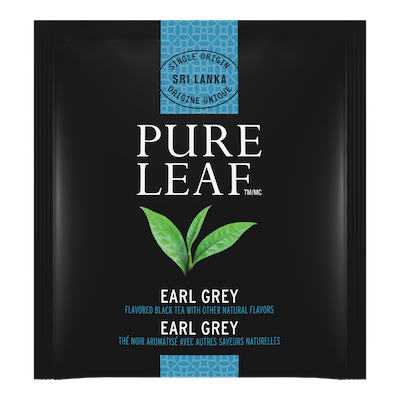 Pure Leafᵀᴹ Hot Tea Bags Earl Gray 25 count, Pack of 6 - Pure Leafᵀᴹ Hot Teas match the careful craftsmanship of your menu.