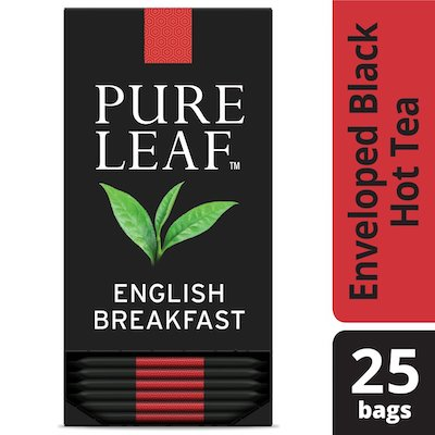 Pure Leafᵀᴹ Hot Tea Bags English Breakfast 25 count, Pack of 6 - Pure Leafᵀᴹ Hot Teas match the careful craftsmanship of your menu.