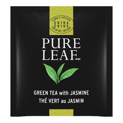 Pure Leafᵀᴹ Hot Tea Bags Green Tea with Jasmine 25 count, Pack of 6 - Pure Leafᵀᴹ Hot Teas match the careful craftsmanship of your menu.