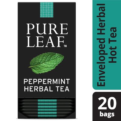 Pure Leafᵀᴹ Hot Tea Bags Peppermint 20 count, Pack of 6 - Pure Leafᵀᴹ Hot Teas match the careful craftsmanship of your menu.