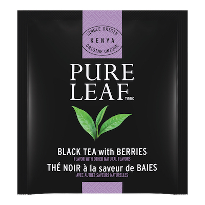 Pure Leaf® Hot Tea Black with Berries 6 x 25 bags - Pure Leafᵀᴹ Hot Teas match the careful craftsmanship of your menu.