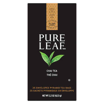 Pure Leaf® Hot Tea Chai 6 x 25 bags - Pure Leafᵀᴹ Hot Teas match the careful craftsmanship of your menu.