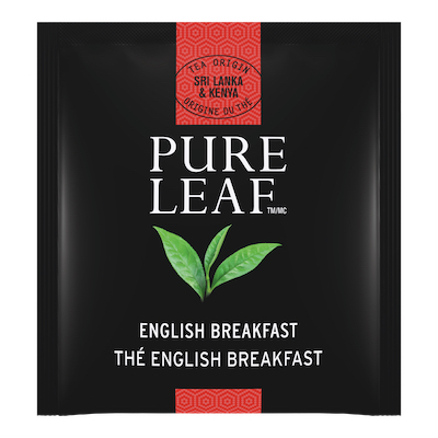 Pure Leaf® Hot Tea English Breakfast 6 x 25 bags - Pure Leafᵀᴹ Hot Teas match the careful craftsmanship of your menu.