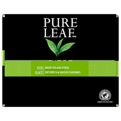 Pure Leafᵀᴹ Iced Loose Tea Pouch Green with Citrus 3 gallon, 24 count - Pure Leafᵀᴹ Hot Teas match the careful craftsmanship of your menu.
