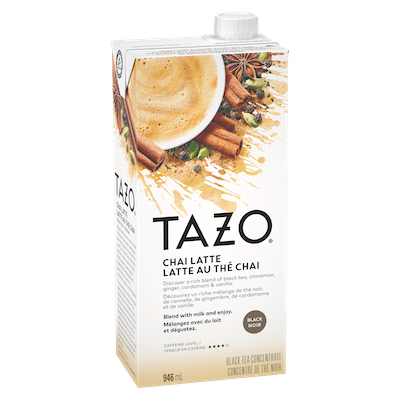 TAZO® Tea Concentrate Classic Chai Latte 1:1 6 x 946 ml -
