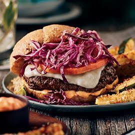Butternut and Bison Burger