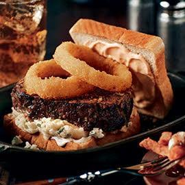 Mile High Meatloaf Burger