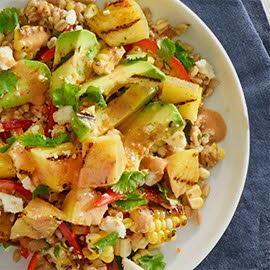 Pineapple Habanero Grain Salad