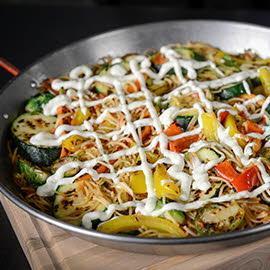 Roasted Vegetable Fideua