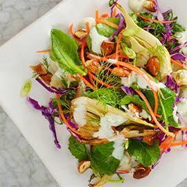 Zesty Fennel and Kale Salad