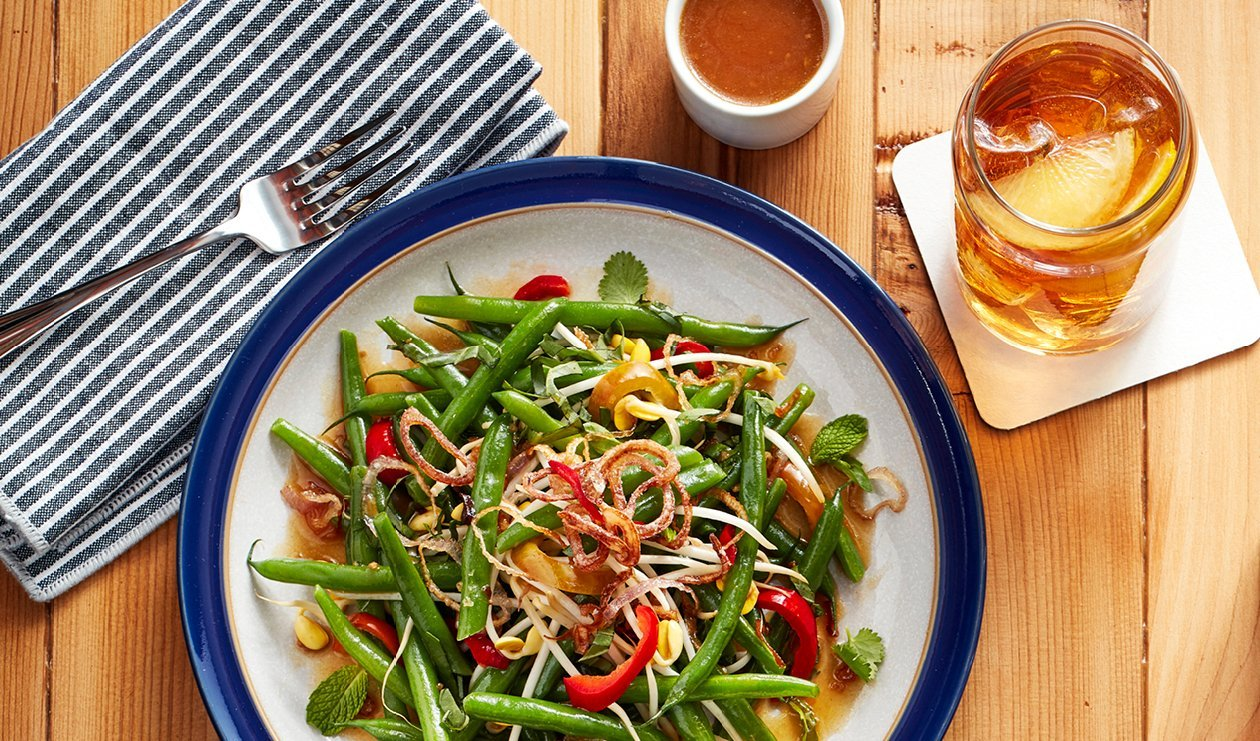Asian Green Beans Bean Salad – recipe