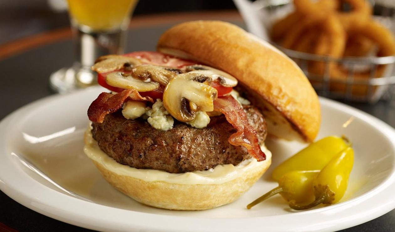 Big Bleu Burger – recipe