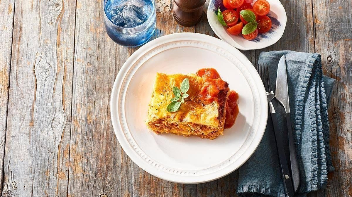 Bolognese and Truffle Cream Lasagna – recipe