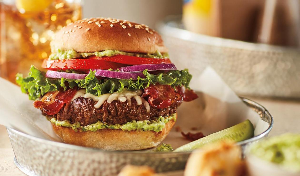 Fresh Pesto Burger – recipe