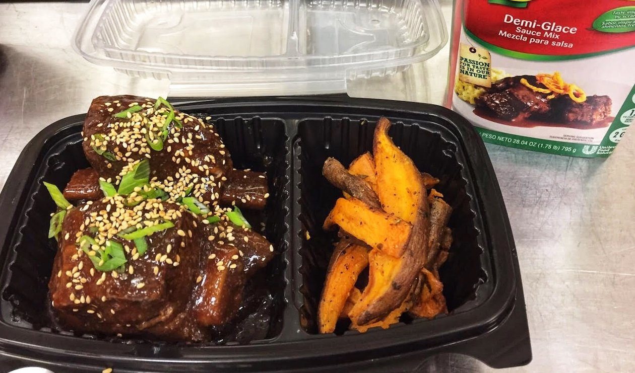 Korean Braised Short Ribs – recipe