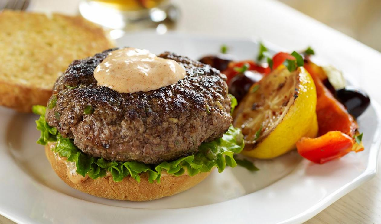 Moroccan Burger – recipe
