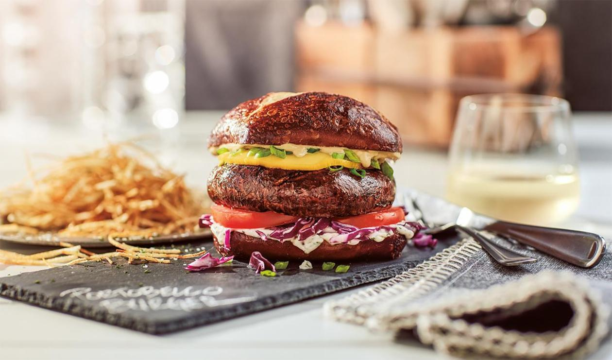 Mushroom Burger  – recipe