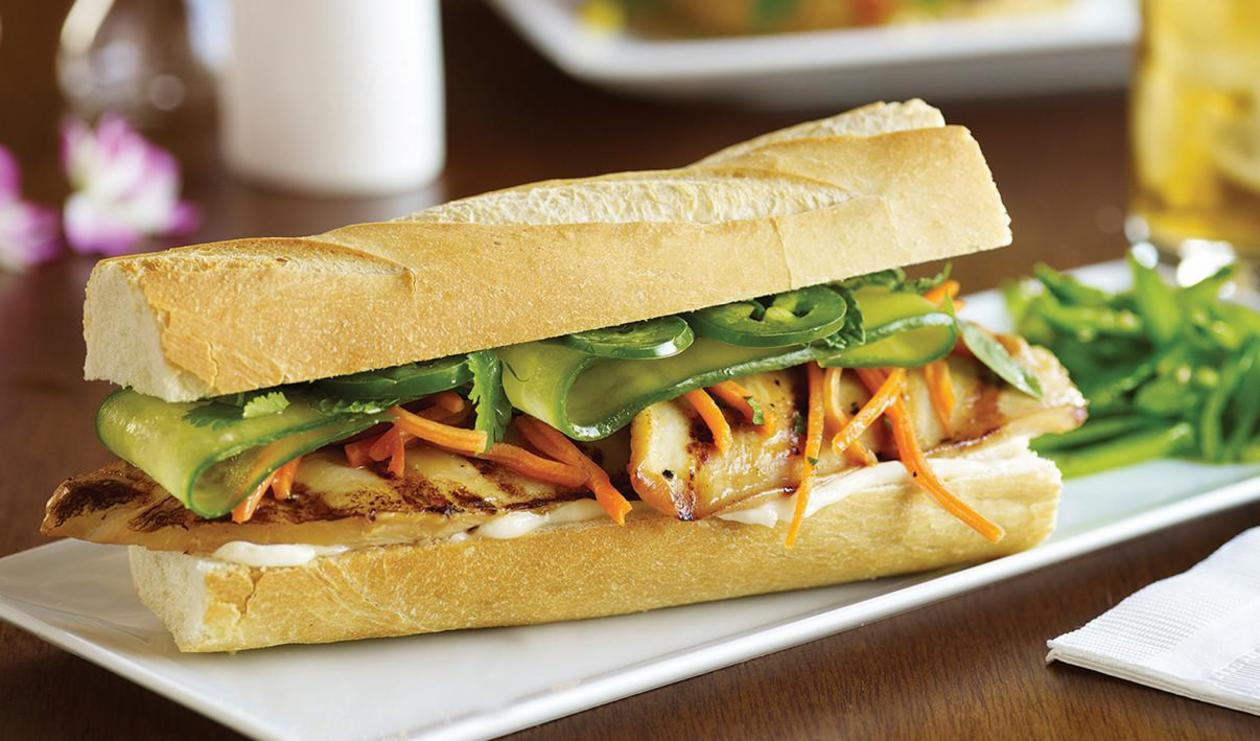 Olympian Chicken Banh Mi – recipe