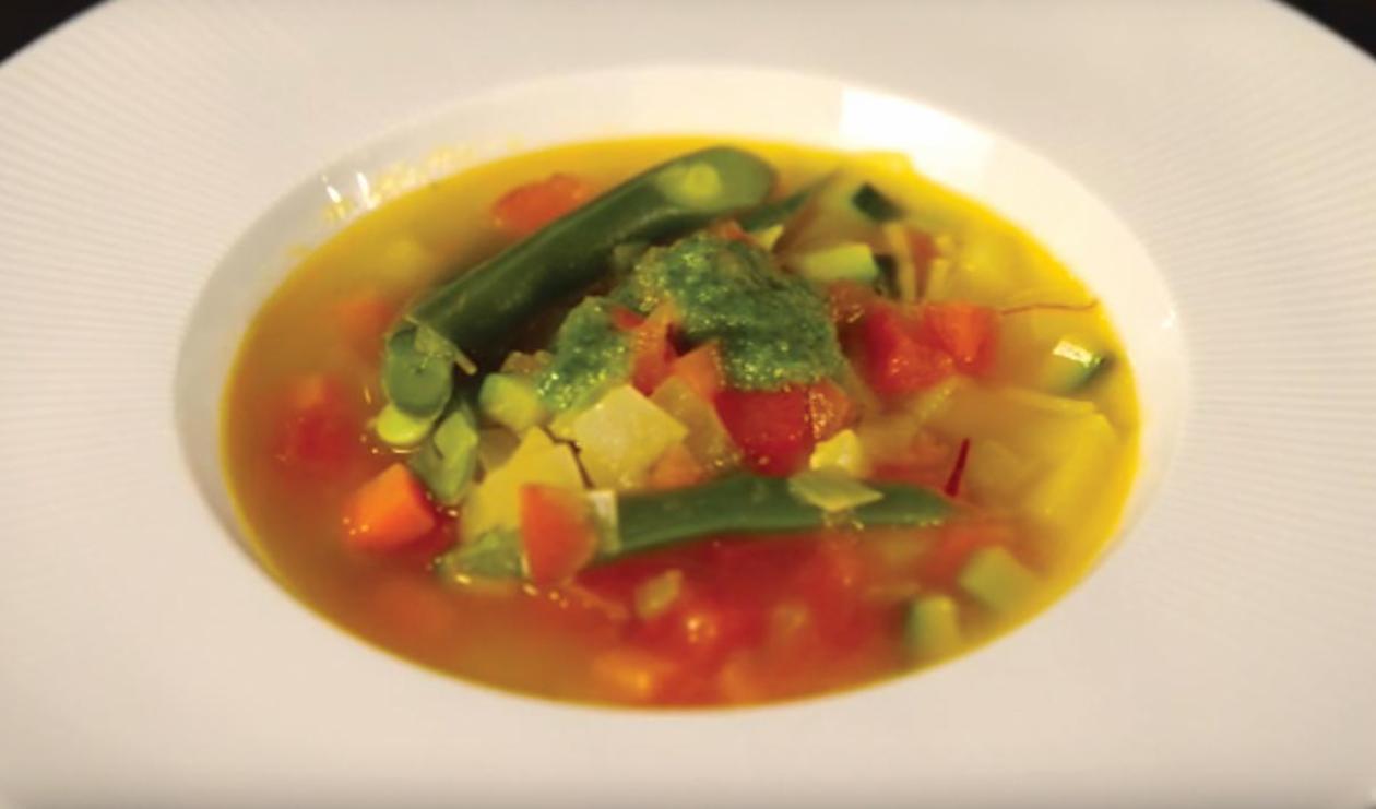 Pistou Soup  – recipe