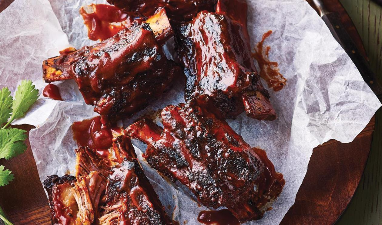 Pomegranate and Beer Braised Short Ribs – recipe