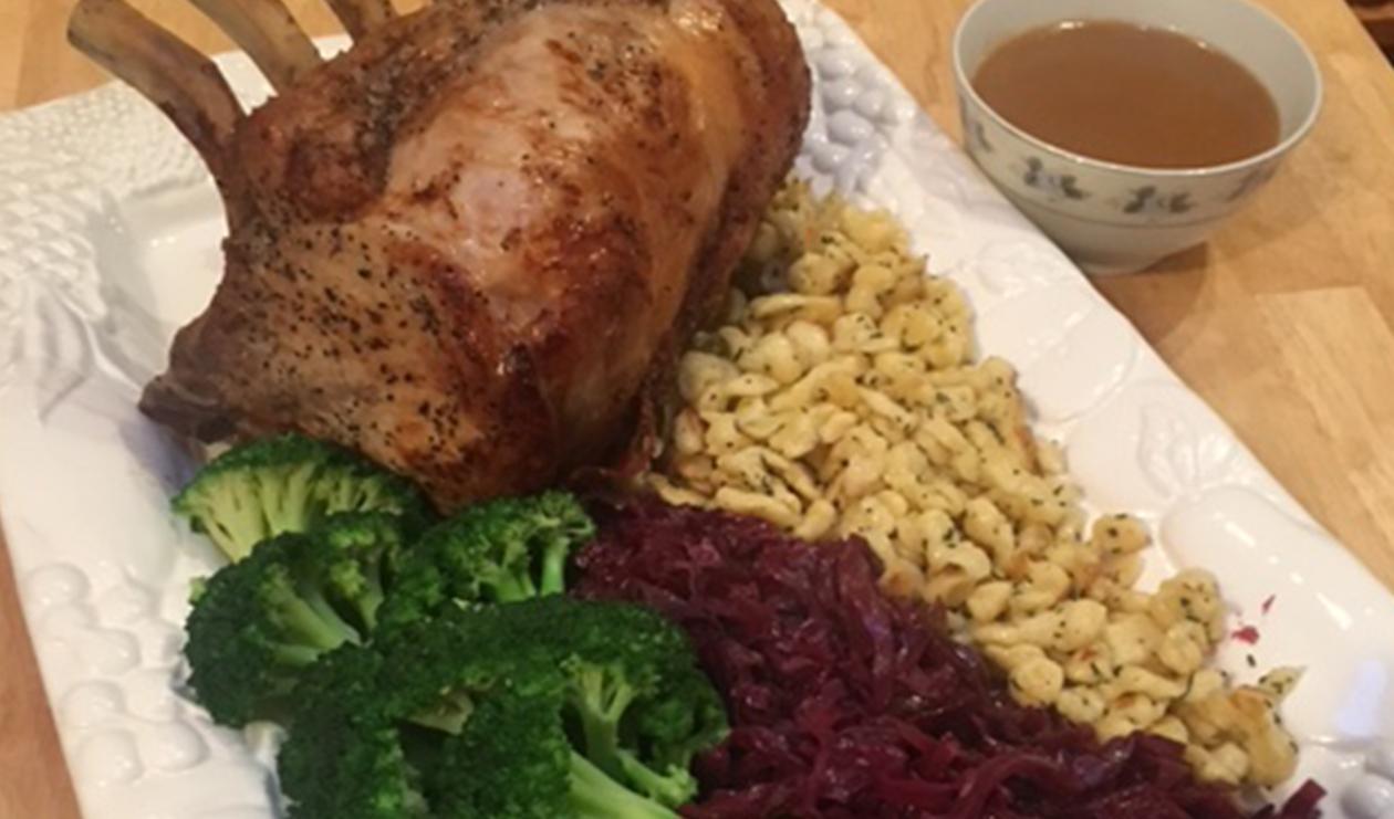 Roast Pork Rib Roast  – recipe