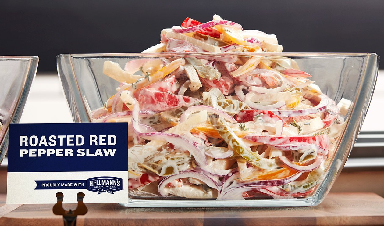 Roasted Pepper Slaw – recipe