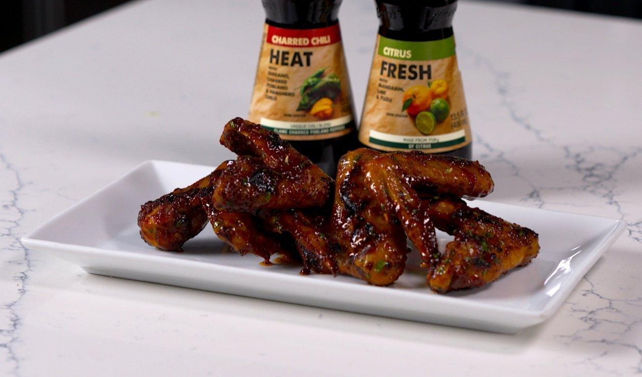 Smoky Honey Citrus Chicken Wings – recipe