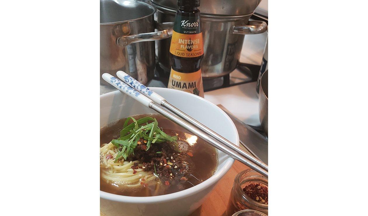 Spicy Noodle Soup – recipe