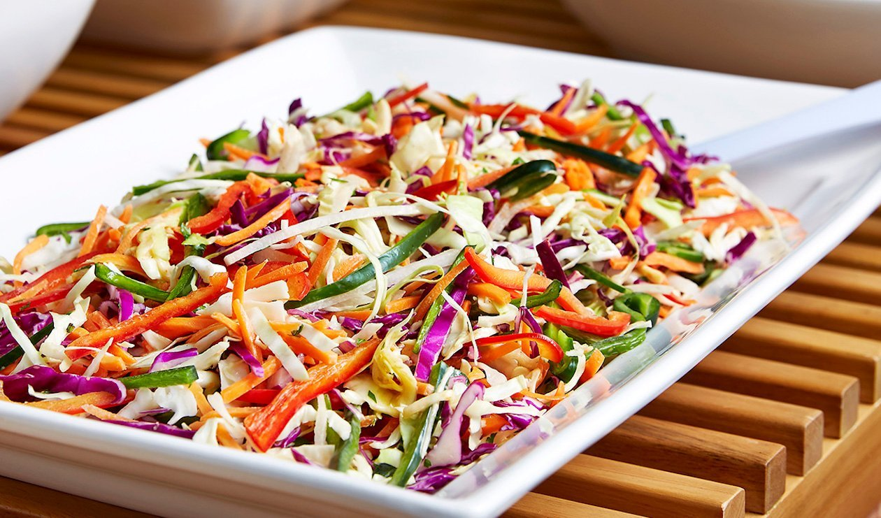Spicy Southwestern Huddle-up Slaw – recipe
