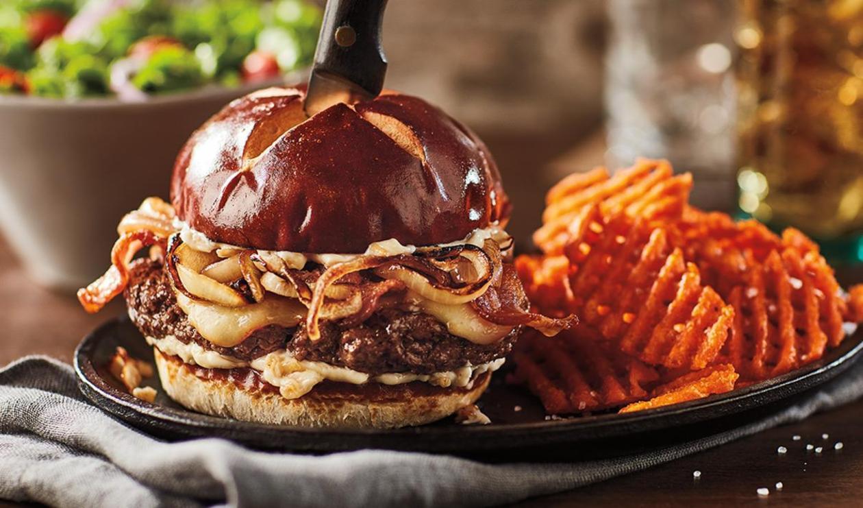 Steakhouse Burger – recipe